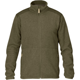 Fjällräven Sten Fleece Jacket Men Dark Olive